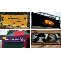 Best Flex Vinyl Banners halloween banners Printing Outdoor Signs wholesale