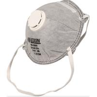 China Gray Color FFP1 Disposable Dust Respirators , Dust Proof Mask Adjustable Nosepiece on sale