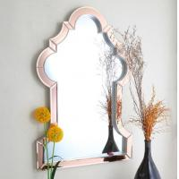 Best Customized Shaped Lounge Wall Mirrors , Custom Wall Mirrors For Bathroom wholesale