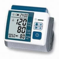 Best Wrist Blood Pressure Monitor with Auto Power-off and 2 x AAA Batteries wholesale