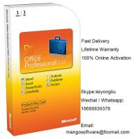 China International Office Professional 2010 Product Key Card , Ms Office 2010 Retail PKC on sale