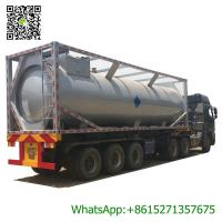 Best 30ft Mobile LPG Gas Tank Container Gas Filling Station 30000L  LPG Gas Refilling Skid Plant Station wholesale