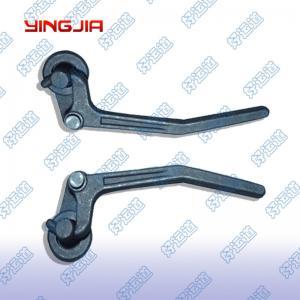 China 03220/03221   Castings left and right plate locks, Hook locks, Van / truck accessories on sale
