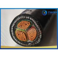 China 3 Cores / 4 Cores LV Power Cable Steel Wire Armour SWA Cable XLPE Insulation on sale