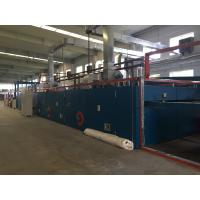 Cheap Non Woven Machinery / Textile Stenter Machine Horizontal Roller Chain Transmission for sale