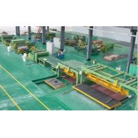 Best High Speed Rotary Shear Cut To Length Line Steel Roll Forming Machine wholesale