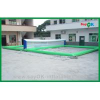 Best Funny Volleyball Court Inflatable Water Toys , Inflatable Pool Toys wholesale