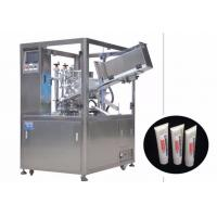 Best 25-250 ml Cosmetic Filling Machine / Automatic Tube Filling And Sealing Machine wholesale