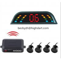 Best CE Wireless Car Reversing Reverse Parking Kit Buzzer Alarm LED Display Parking Sensor wholesale