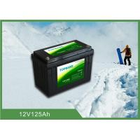 Best Durable Lithium Iron Phosphate Lifepo4 Batteries 12V 125ah With Low Temp Function wholesale