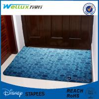 China Bathroom Personalized Door Mat Commercial Kitchen Mats With Logo Printed on sale