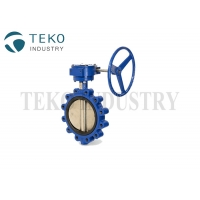 Best Lug End Class 125 Wafer API609 Cast Steel Butterfly Valve For HAVC wholesale