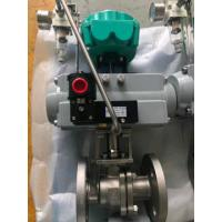 China rack and pinion single acting pneumatic actuator control valve on sale