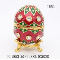 Best Faberge Easter egg trinket box gold Faberge Easter egg jewelry box wholesale