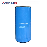 China Diesel Engine Oil Filter , Heavy Truck Oil Filter Replacement Iron Material on sale