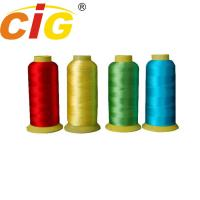 Best Bright Color 100% Rayon Embroidery Thread 150D/2 & 210D/2 For Garment / Bedding wholesale