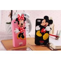 Cheap Hot selling Silicone Mickey & Minnie mobile phone case cover for Disney for sale