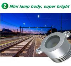 Best Mini 1W Led Handrail Railing light 12V Low Voltage IP67 Recessed Outdoor Spotlights Stair Lights Bridge Landscape Lighti wholesale