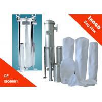 China Single Bag Stainless Steel Water Filter Housing / Industrial Water Filtration on sale