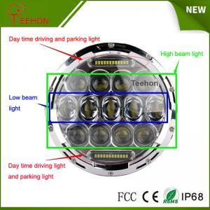 Best 7 Inch 75w LED Car Headlight DRL 12v 24v Driving Light for Jeep Hummer Camaro Fj wholesale