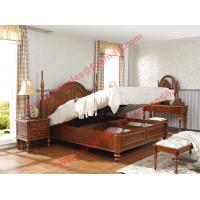 Best Ancient Rome style Solid Wood Bed with Storage in Bedroom Furniture sets wholesale
