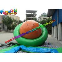 China Plato 0.9mm Vinyl Inflatable Water Sport Toys Commercial Strong Water Saturns on sale