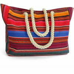 Best Beach Bag - Large Waterproof Canvas Beach Tote Bag  Zipper candy jelly bag canvas size shoulder bag wholesale