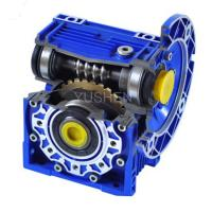 China Aluminium Alloy Worm Wheel Drive 1400 RPM Motor Speed Reducer Gear Box on sale