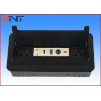 China Hidden Flip Up Conference Table Electrical Outlets For Office Furniture on sale