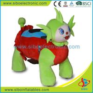 Best Sibo Plush Toys Play By Play Plush Animals Motorized Walking Animal Rides wholesale