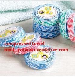 Best round magic compressed towel  wholesale