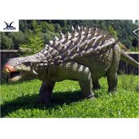 Best Life Size Animatronic Dinosaur Realistic Resin Waterproof Ankylosaurus Display wholesale