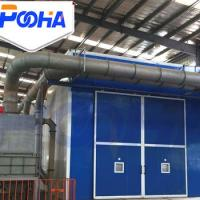 High Efficiency Safety Sand Blasting Room Automatic Abrasive Recovery System