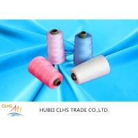 Best AAA Grade 60 / 3 100 Spun Polyester Sewing Thread Sun Resistance Low Hygroscopic wholesale