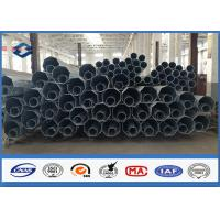 Best 8M 11M steel light pole AWS D1.1 Welding Thickness 4mm steel pipe Easy install wholesale