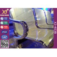 Best Anti Rust Steel Waiting Area Chairs , Durable Metal Airport Waiting Chairs wholesale