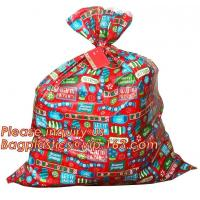 Best Food Grade Christmas Gift Bags Red Sack Plastic Jumbo Bike Gravure Printing wholesale
