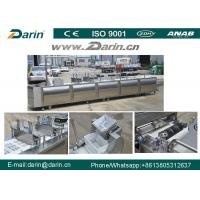 Best Healthy Nutritional Vegetarian Cereal Bar Making Machine with Siemens PLC & Touch Screen wholesale