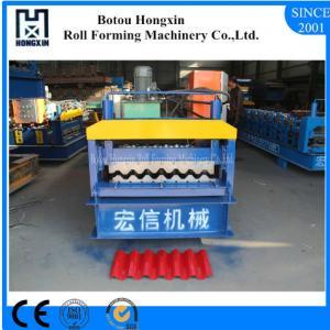Best Size Optional Corrugated Sheet Making Machine 750mm Product Effective Width wholesale