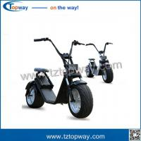 Best EEC Approval 2017 new citycoco 1000w fat tire halley adult electric scooter wholesale