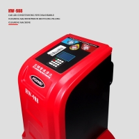 Best Pipe Cleaning 1HP R134a Refrigerant Recovery Machine With Condenser wholesale