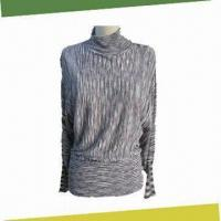 Best Ladies' Knitted Pullover, Made of Viscose/Cotton wholesale