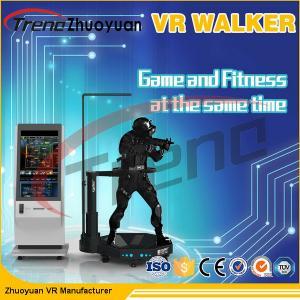Best Shopping Mall Electronic Virtual Reality Walking Treadmill Virtual Screen 800 Watt AC 220 Volt wholesale