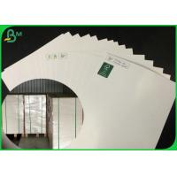 China 300GSM Single Coated And Glossy White Ivory Board Paper For Making Perfume Box on sale