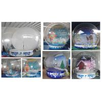 Best Inflatable Christmas Snow Ball wholesale