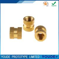 Best Rapid Prototyping Production , Rapid Prototyping Tools Brass Nuts With Polishing wholesale
