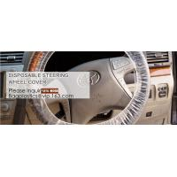 Best Car Steering Wheel Cover For Universal Disposable Plastic Covers,eavy 4 mil 100% American Protective Cover Auto Adhesive wholesale