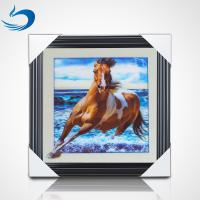 China 40 * 40cm Horse Poster Custom Lenticular Printing For Gifts And Home Decor on sale