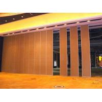 China Folding Internal Sound Proof Partitions , Lightweight Removable Acoustic Insulation Doors on sale