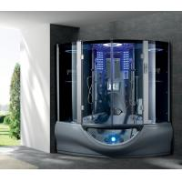 China Classic deluxe steam shower box with LED LIGHTE , MP3,TV G160I grey color on sale